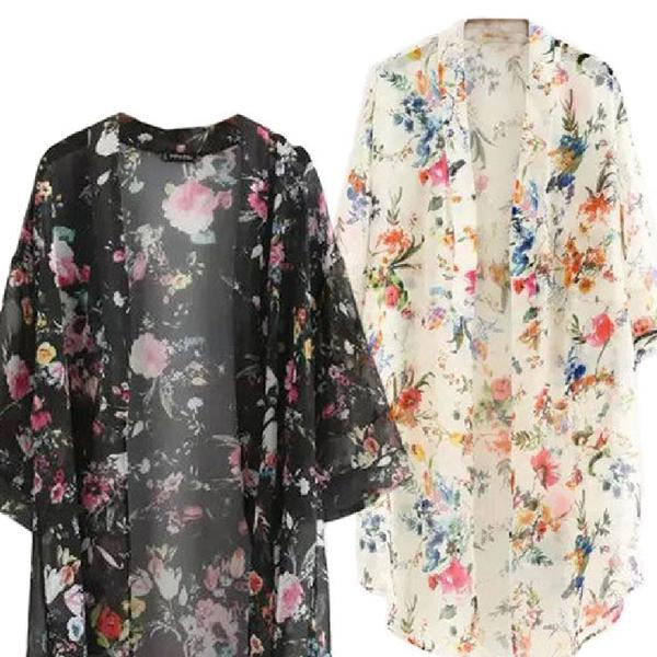 Floral Inspired Kimono Collection