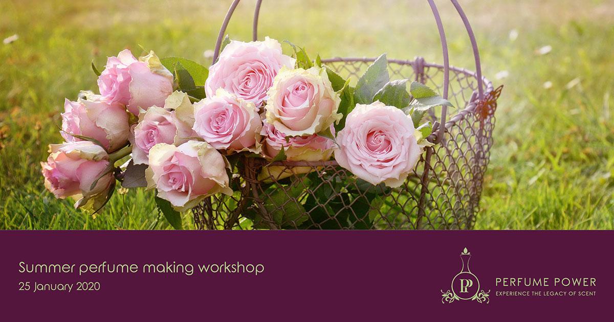 perfume power summer workshop
