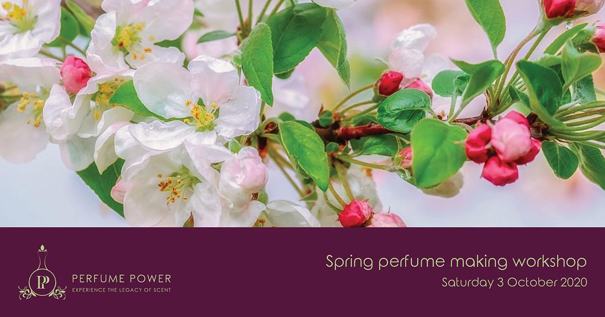 spring perfume making workshop